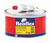 REOFLEX  Шпатлевка универсальная Multi  0,6кг+0,015кг