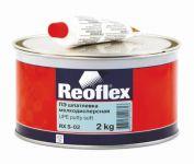 REOFLEX  Шпатлевка мелкодисперсная Soft  0,6кг+0,015кг