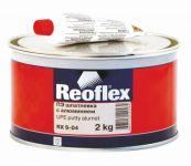 REOFLEX  Шпатлевка с алюминием Alumet  0,6кг+0,015кг