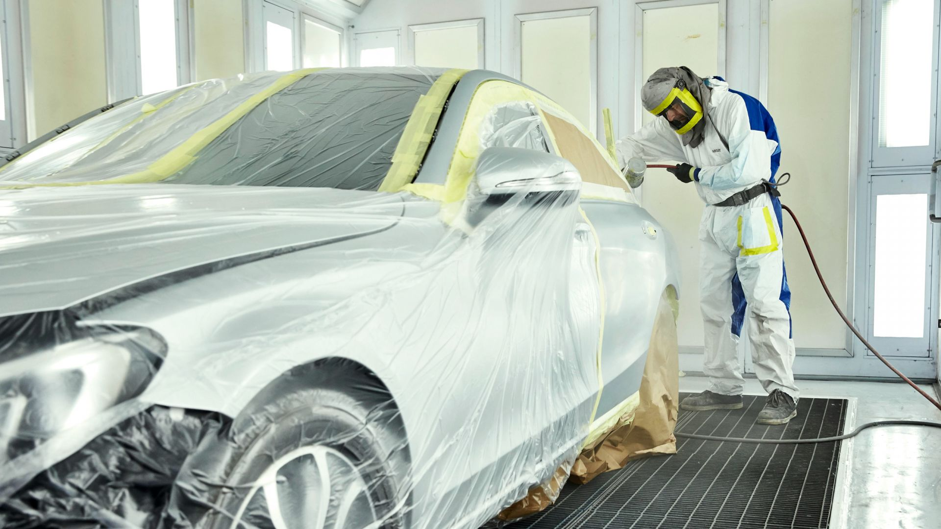 Технологии покраски автомобиля